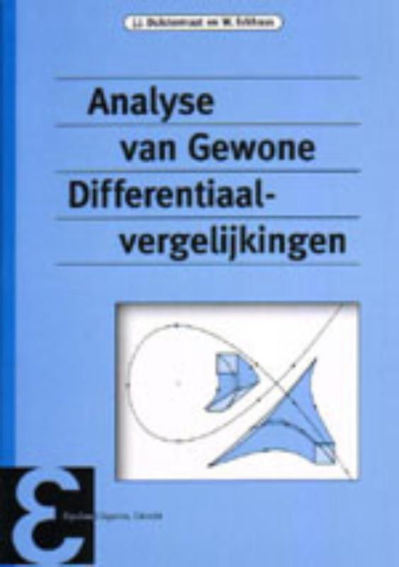 Epsilon uitgaven Analyse van gewone differentiaalvergelijkingen