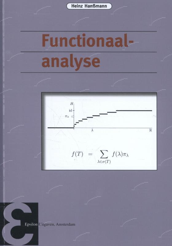 Epsilon uitgaven Functionaalanalyse