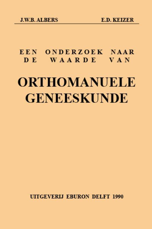 Onderzoek waarde orthomanuele geneeskund
