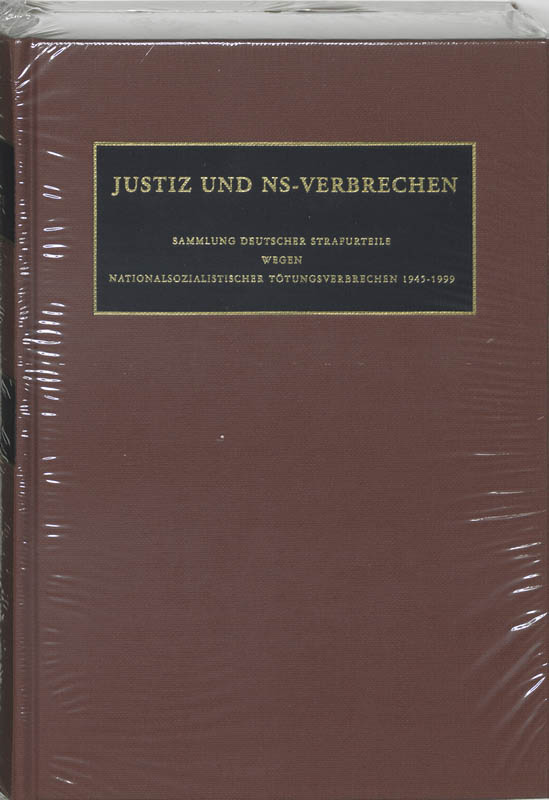 Justiz und NS-Verbrechen XXXV