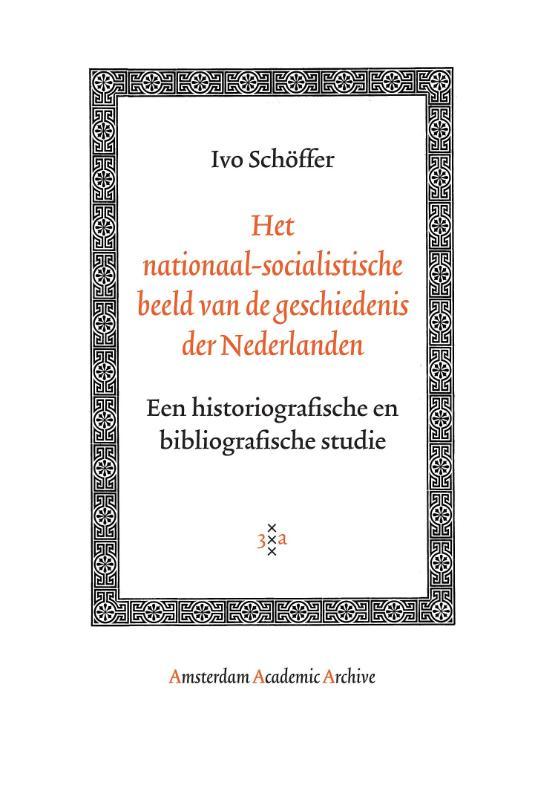 Het nationaal-socialistische beeld van de geschiedenis der Nederlanden