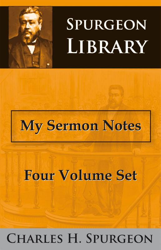 My Sermon Notes Four Volume Set