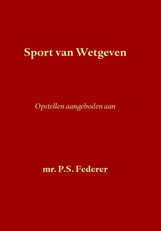 Sport van Wetgeven