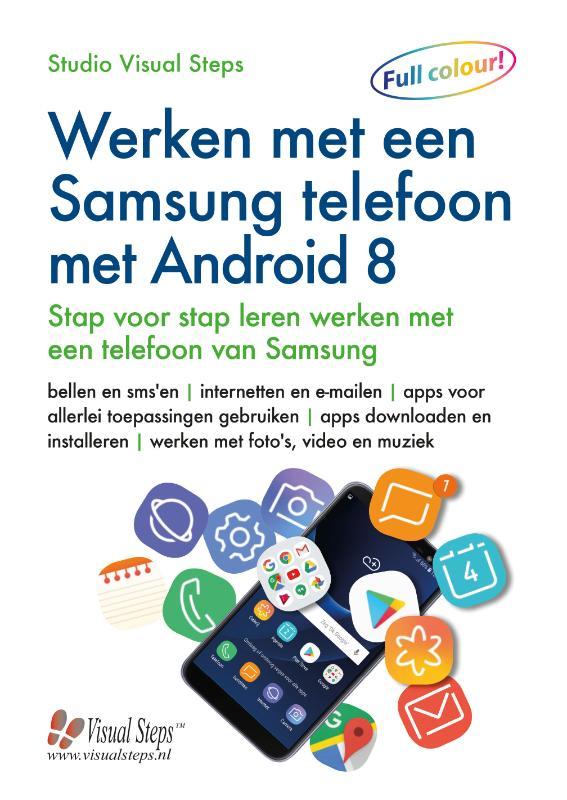 Werken met een Samsung telefoon met Android 8 of 9
