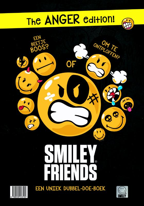 Smiley Dubbelboek Love and Anger