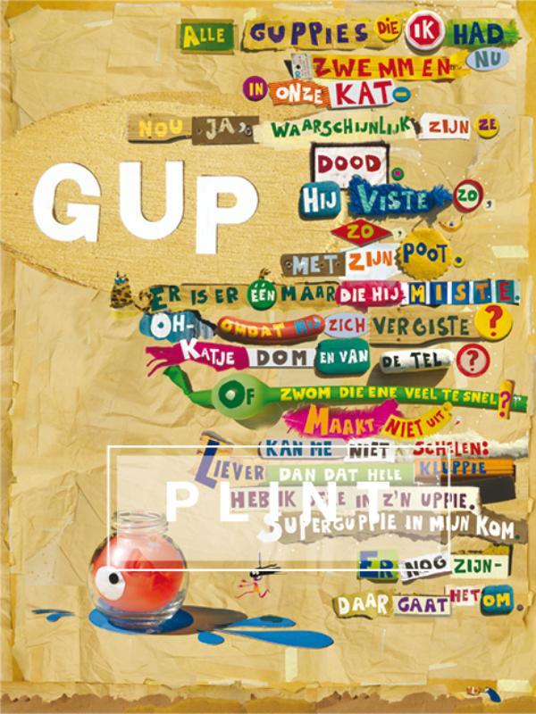 Plint Poezieposter 'GUP' Edward van de Vendel 1081