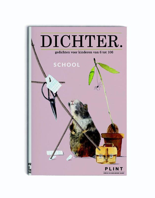 Plint DICHTER. nr. 2 School - Set van 10 stuks DICHTER.