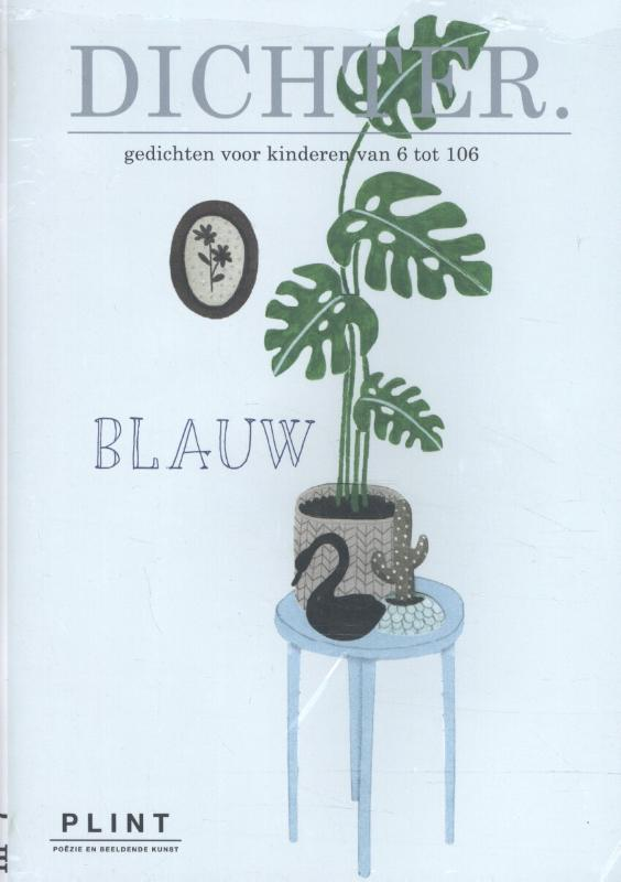 Plint DICHTER nr. 7 BLAUW set van 10