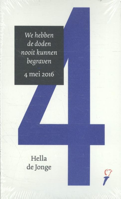 Set van 5 toesprakenboekjes 4/5 mei 2016 door Hella de Jonge en Thomas Erdbrink
