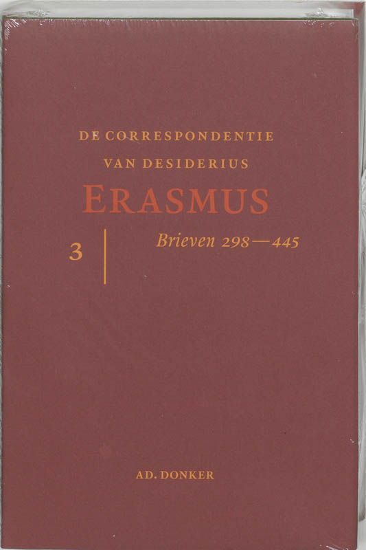 De correspondentie van Erasmus 3