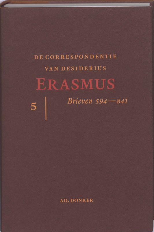 De correspondentie van Desiderius Erasmus 5