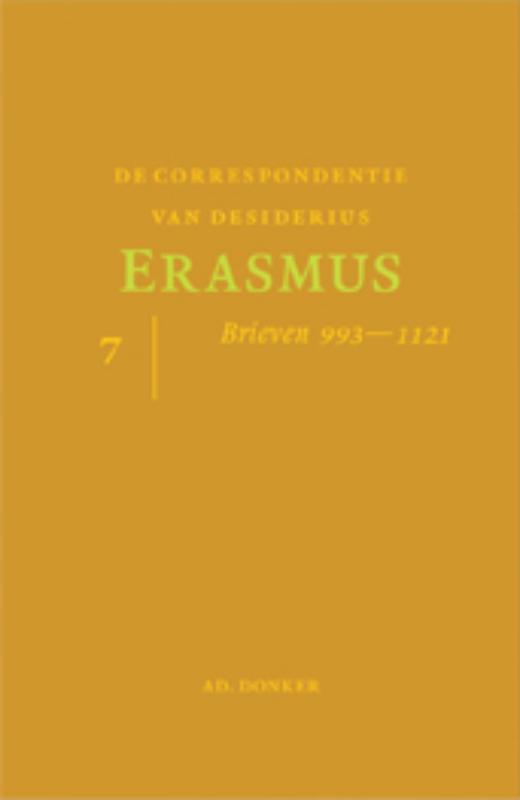 De correspondentie van Desiderius Erasmus 7