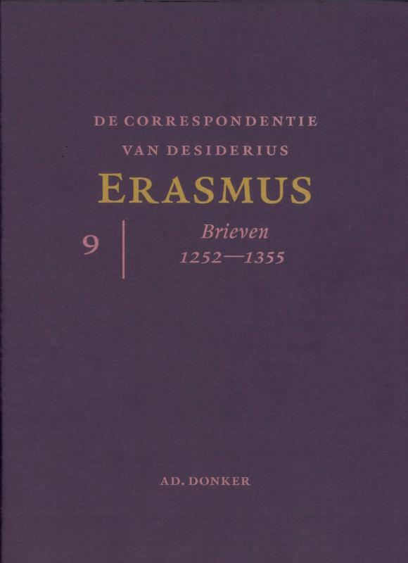 De correspondentie van Desiderius Erasmus  9