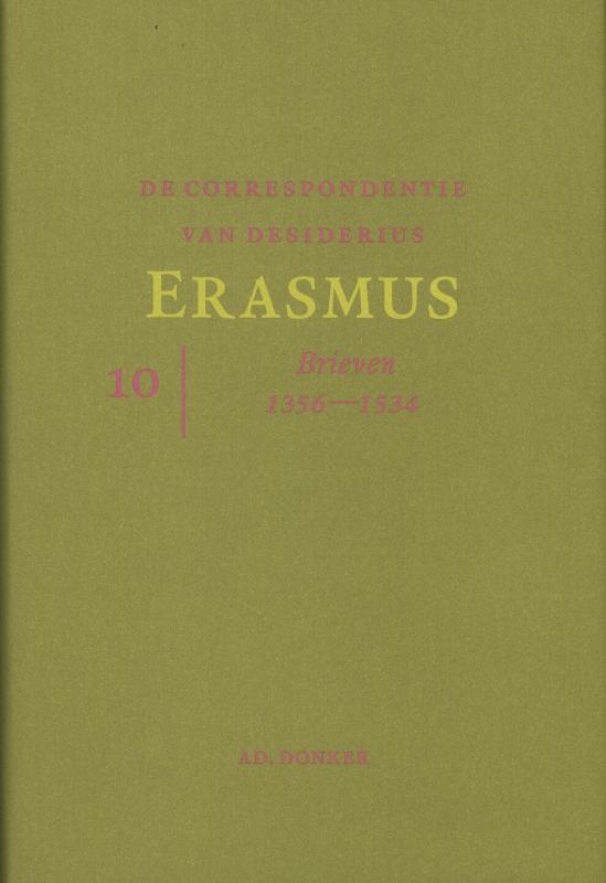 De correspondentie van Desiderius Erasmus 10
