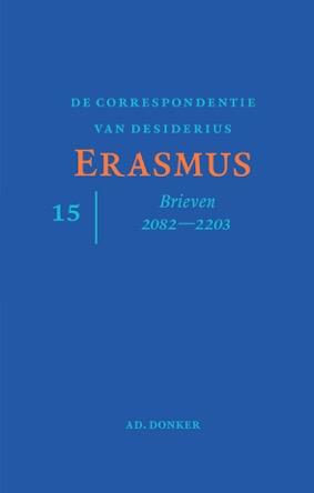 De correspondentie van Desiderius Erasmus deel 15