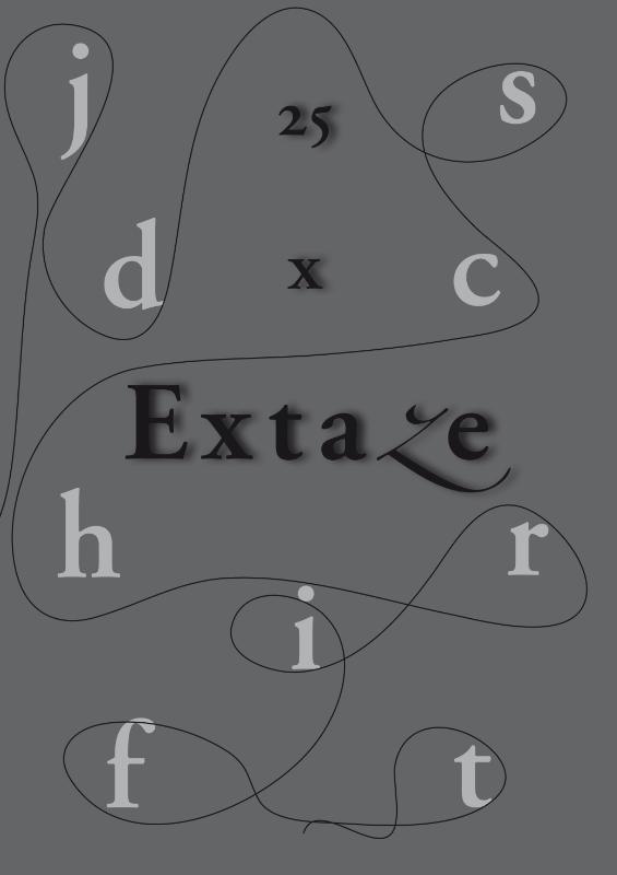 25 x Extaze