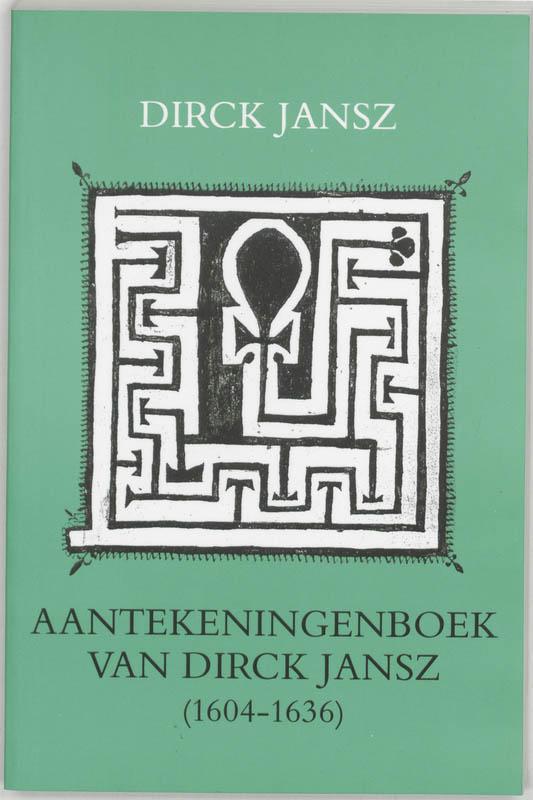 Aantekeningenboek van dirck jansz