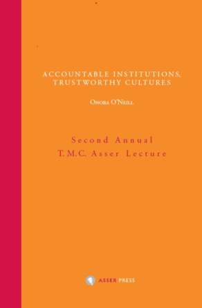 Accountable Institutions, Trustworthy Cultures