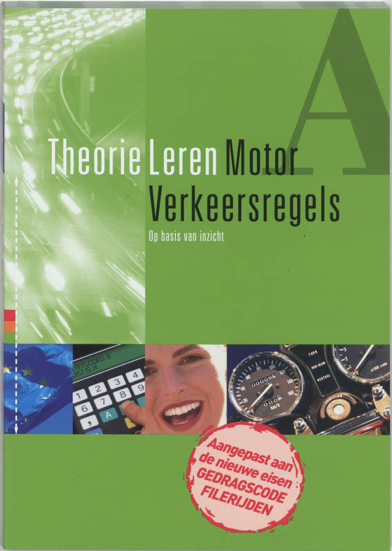 Motor rijbewijs halen De theorie