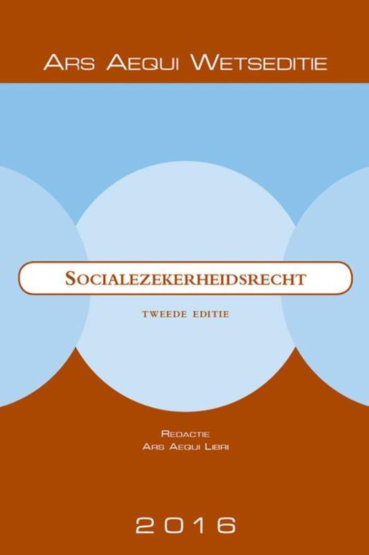 Ars Aequi Wetseditie Socialezekerheidsrecht