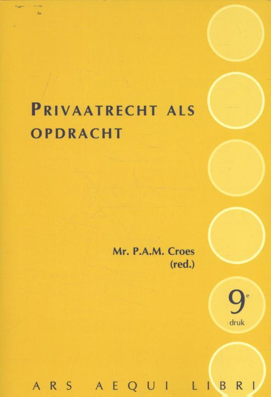 Ars Aequi Handboeken Privaatrecht als opdracht