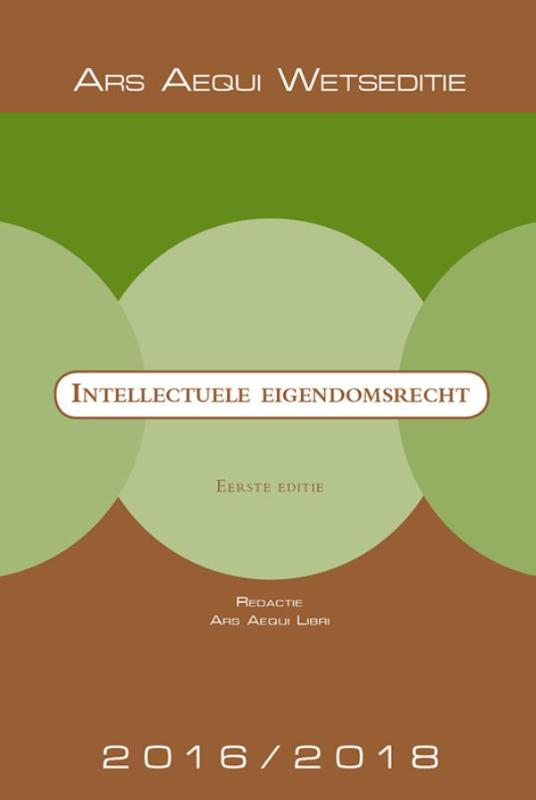 Ars Aequi Wetseditie Intellectuele Eigendomsrecht