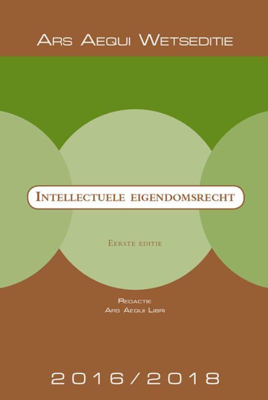 Ars Aequi Wetseditie Intellectuele Eigendomsrecht
