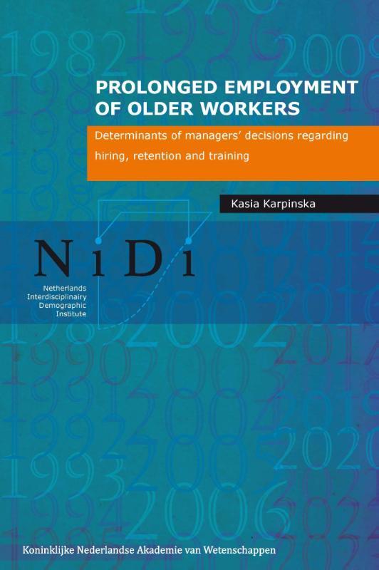 NiDi Boek; 89 Prolonged employment of older workers