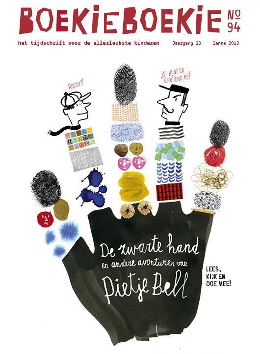 Boekie Boekie De Zwarte Hand en andere avonturen van Pietje Bell