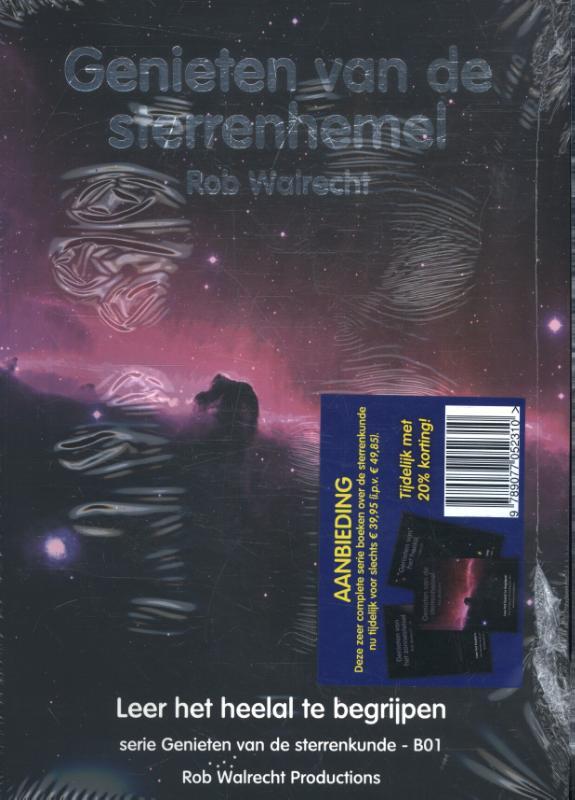 Set 3 Complete set boeken Genieten van de sterrenkunde
