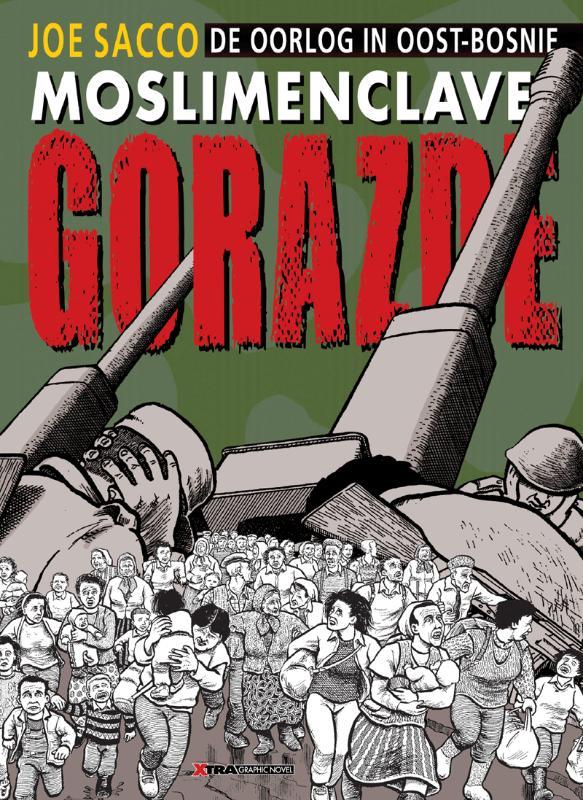 Moslim-enclave Gorazde (De oorlog in Oost-Bosnië)