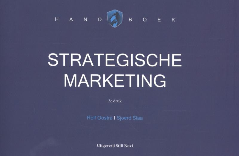 Handboek strategische marketing