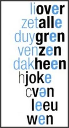 Over Alle Grenzen Heen - Joke Van Leeuwen