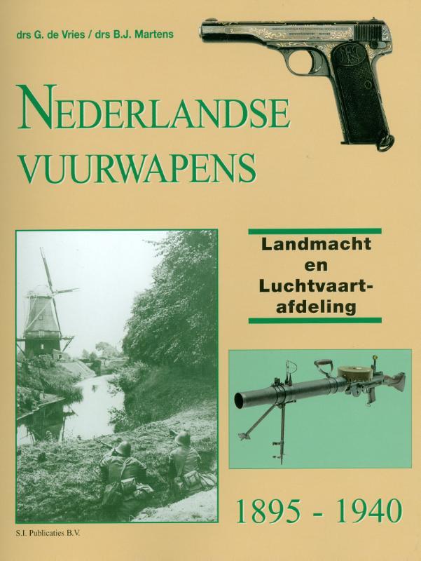 Nederlandse Vuurwapens Landmacht en Luchtvaartafdeling, 1895-1940