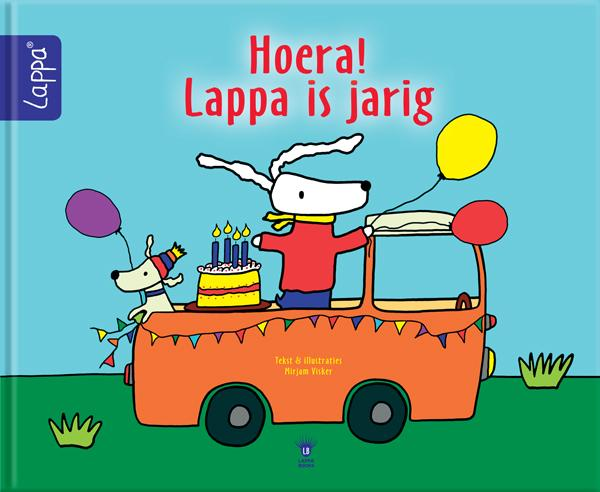 LAPPA® Kinderboeken Hoera! Lappa is jarig