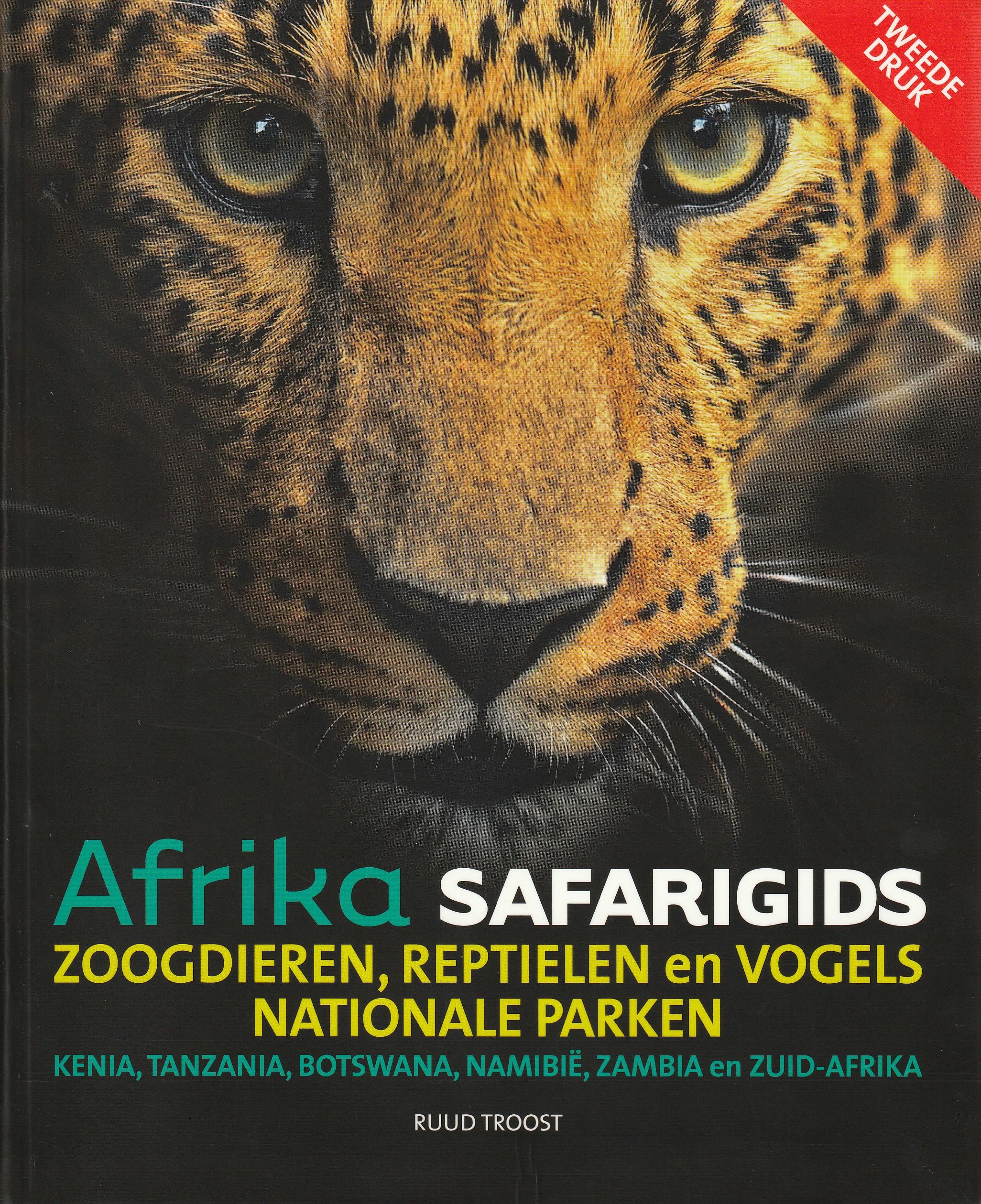 Afrika Safarigids zoogdieren, reptielen en vogels.
