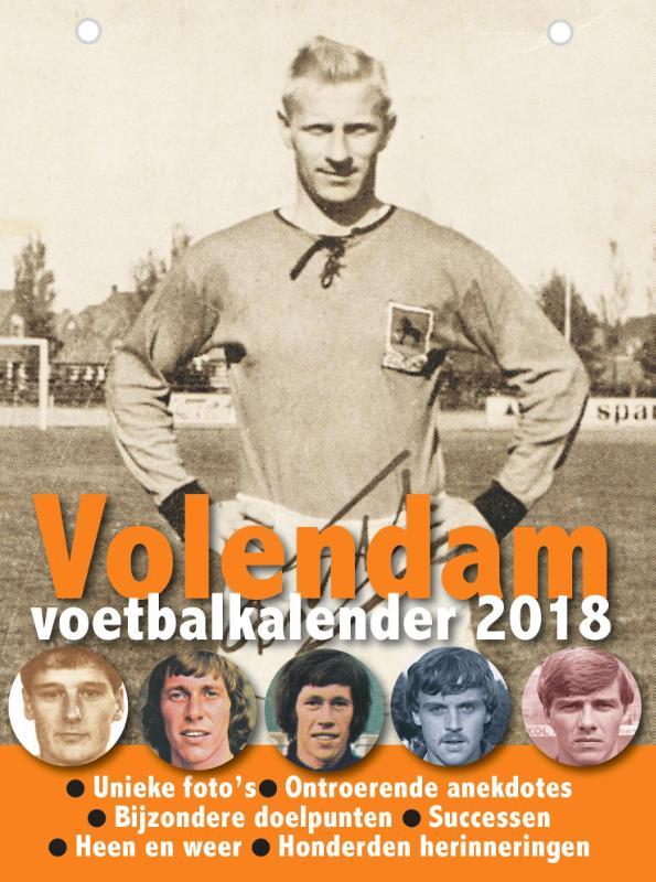 Volendam Voetbalkalender 2018