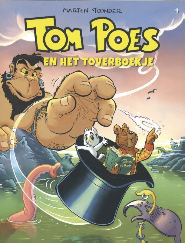 Tom Poes avonturen Tom Poes en het toverboekje