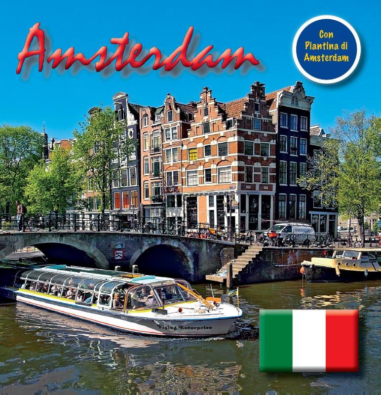 Amsterdam 15x15 cm Italiaanse Editie incl. Stadsplattegrond