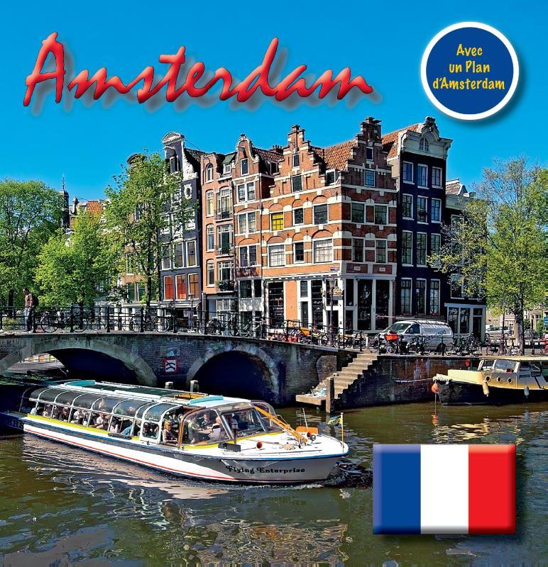 Amsterdam 15x15 cm Franse Editie incl. Stadsplattegrond