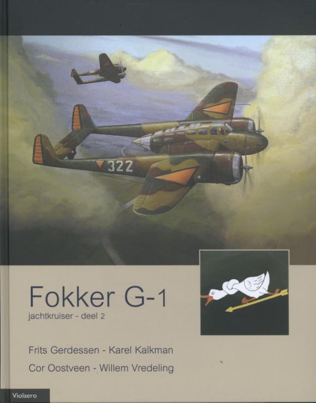 Militaire Historie Fokker G-1 'Le Faucheur' 2 Jachtkruiser