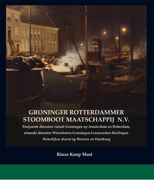 Rederij-boeken Groninger Rotterdammer Stoomboot Maatschappij NV