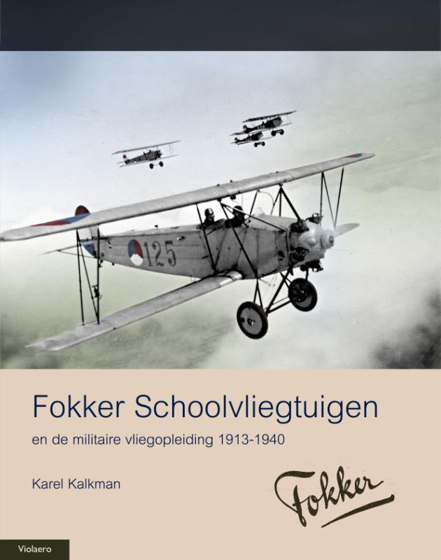 Militaire Historie Fokker schoolvliegtuigen