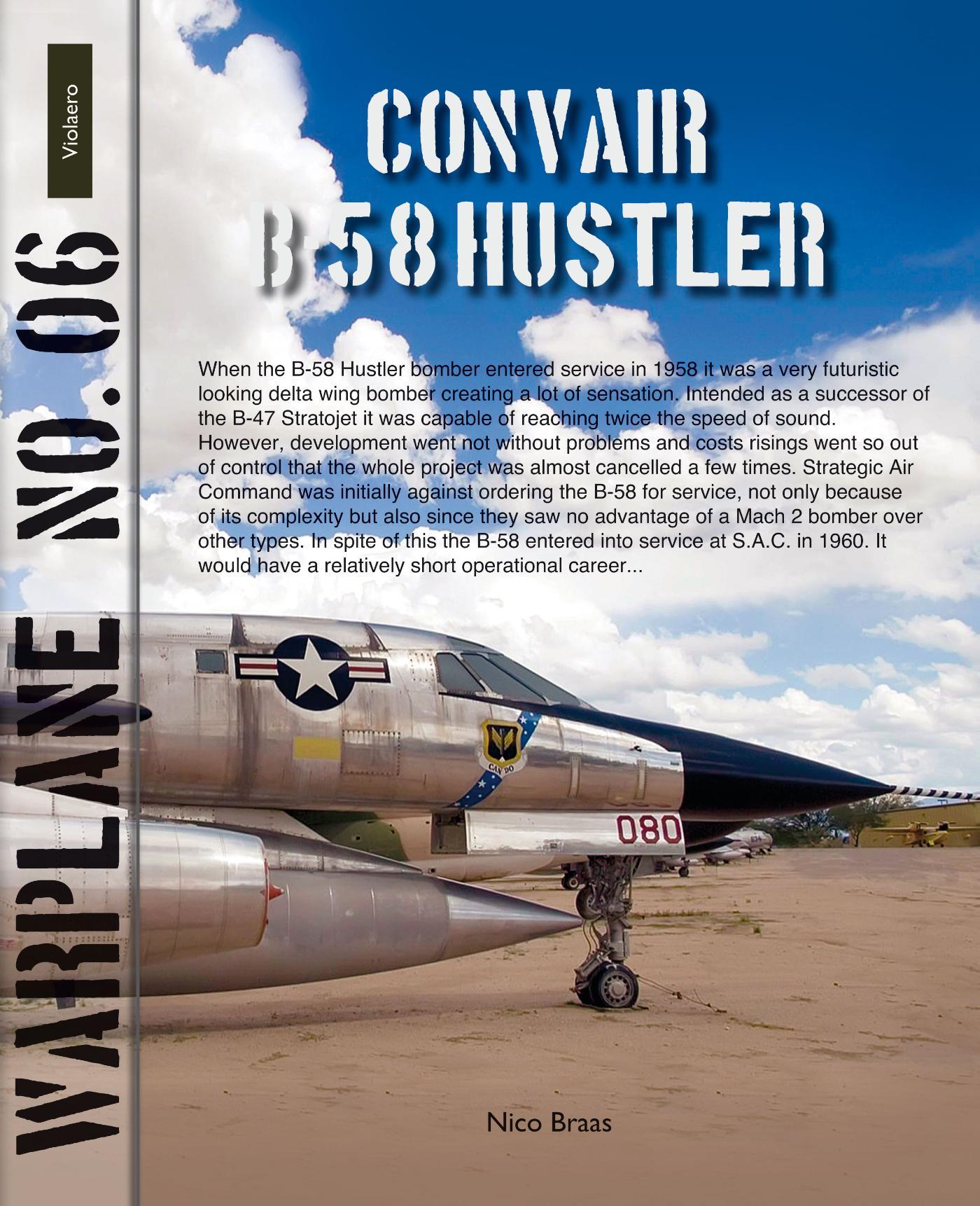 Warplane 6: B-58 Hustler