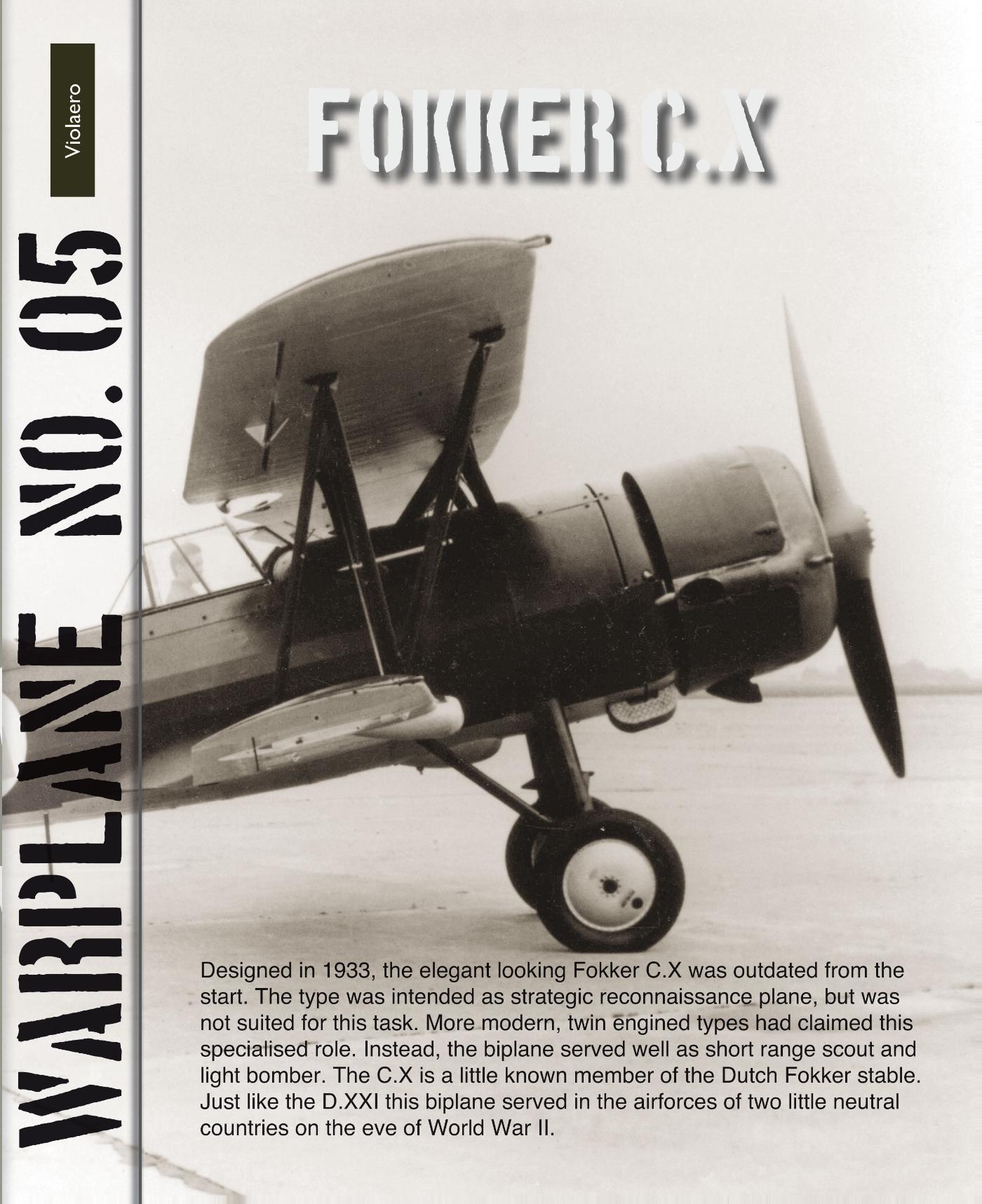 Warplane 5: Fokker C.X