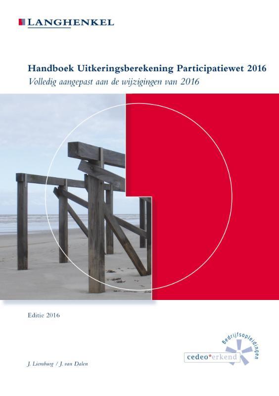 Handboek uitkeringsberekening Participatiewet 2016