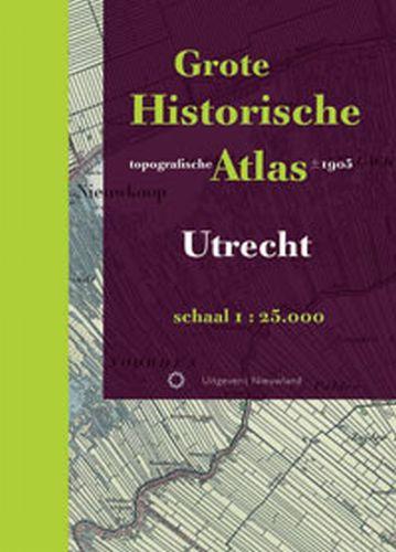 Historische provincie atlassen Grote Historische topografische Atlas Utrecht