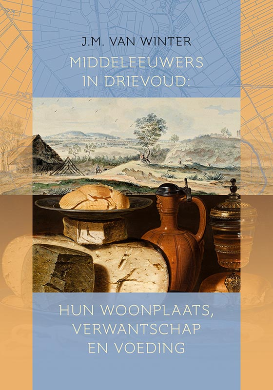 Middeleeuwers in drievoud: hun woonplaats, verwantschap en voeding