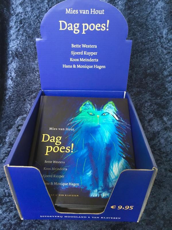 Dag poes! mini editie - display 10 exemplaren