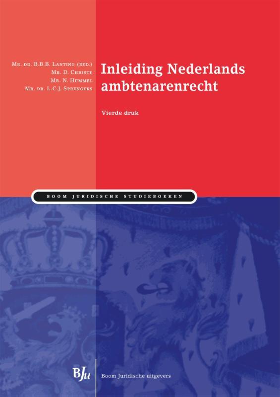 Inleiding Nederlands ambtenarenrecht (Verhulp/Christe)